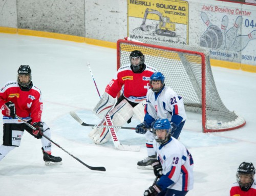Spielbericht U16 Nationalmannschaft: Slovakia vs Switzerland 2:4 (1:1, 1:2, 0:1)